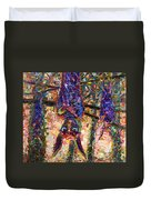 Disturbed Duvet Cover by James W Johnson