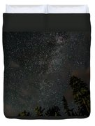 Disturbing The Milky Way Duvet Cover