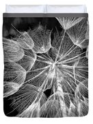 Ditch Lace Bw Duvet Cover