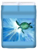 Dive Deep Duvet Cover by Michal Madison