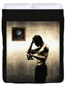 Divide Et Pati - Divide And Suffer Duvet Cover by Alessandro Della Pietra
