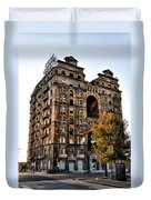 Divine Lorraine Hotel In Philadelphia Duvet Cover