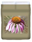 Divinity Gold - Echinacea Duvet Cover