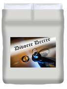 Divorce Decree Duvet Cover