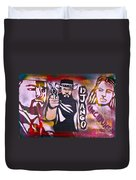 Django Blood Red Duvet Cover
