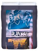 Django Once Upon A Time Duvet Cover