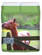 Do Not Feed Duvet Cover