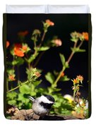 Do You Have Any Flowers That Lived Duvet Cover by Lori Tambakis