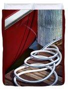 Dock Details Duvet Cover