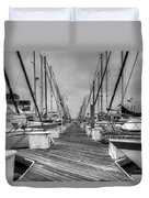 Dock Life Duvet Cover
