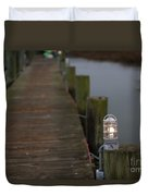 Dock Light Duvet Cover