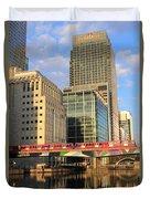 Docklands London Duvet Cover
