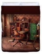 Doctor - Desk - The Physician's Office  Duvet Cover