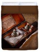 Doctor - Hospital Knapsack  Duvet Cover by Mike Savad