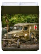 Doctor - Mash Unit  Duvet Cover by Mike Savad