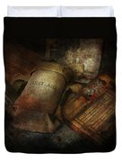 Doctor - Wwii Emergency Med Kit Duvet Cover by Mike Savad