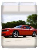 Dodge Challenger Duvet Cover