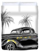 Dodge Coupe Duvet Cover