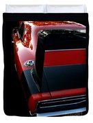 Dodge Daytona Fin Duvet Cover