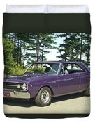Dodge Gts- Trees Duvet Cover