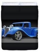 Dodge Pickup Duvet Cover by Mike McGlothlen
