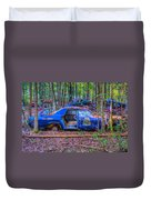 Dodge Polara Police Vehicle Duvet Cover