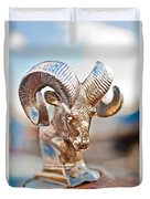 Dodge Ram Hood Ornament 3 Duvet Cover