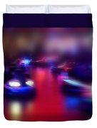 Dodgem Night Duvet Cover
