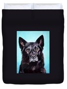 Does This Include Me Black Dog Duvet Cover