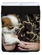 Dog And True Friendship 3 Duvet Cover