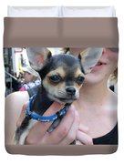 Dog And True Friendship 7 Duvet Cover