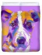Dog Charlie Duvet Cover