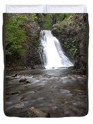 Dog Creek Falls Duvet Cover