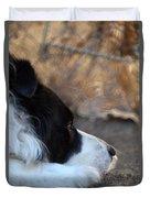 Dog Days Duvet Cover
