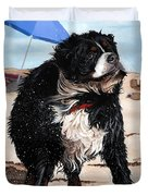 Dog Days Of Summer Duvet Cover