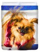 Dog Daze 3 Duvet Cover