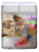 Dog Daze 5 Duvet Cover