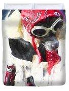 Dog Daze 8 Duvet Cover