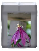 Dog Eared Clematis Duvet Cover