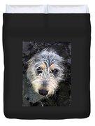 Dog Head Duvet Cover