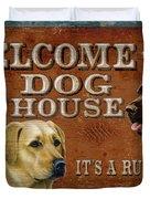 Dog House Duvet Cover by JQ Licensing
