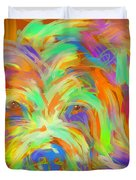 Dog Matze Duvet Cover