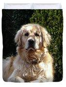 Dog On Guard Duvet Cover