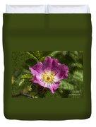 Dog Rose Textured Duvet Cover
