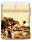 Doggie Face Duvet Cover