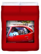 Doggies In The Window Duvet Cover