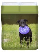 Dogs For Peace Too Duvet Cover