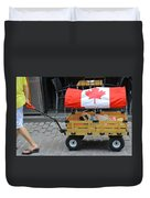 Dog's Life In Canada Duvet Cover