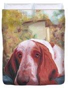 Dog's Portrait No 1 Duvet Cover
