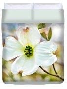 Dogwood Blossom - Digital Paint I  Duvet Cover